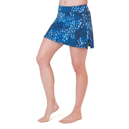 Womens Skirt Sports Gym Girl Ultra Skort Fitness Skirts - Washed/Denim Print XXL