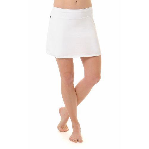 Womens Skirt Sports Gym Girl Ultra Skort Fitness Skirts - White L