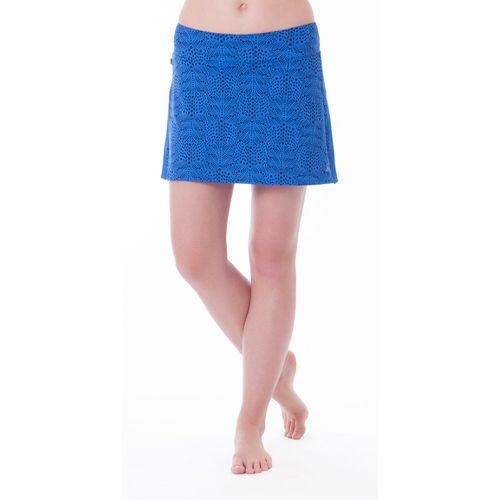 Womens Skirt Sports Gym Girl Ultra Skort Fitness Skirts - Whisper Print L