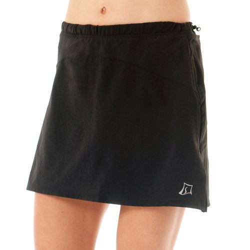 Womens Skirt Sports Adventure Girl Skort Fitness Skirts - Black XS