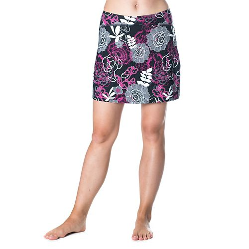 Womens Skirt Sports Happy Girl Skorts Fitness Skirts - Enchanted Print XL