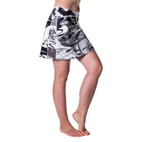 Womens Skirt Sports Happy Girl Skorts Fitness Skirts - Persevere Print XS