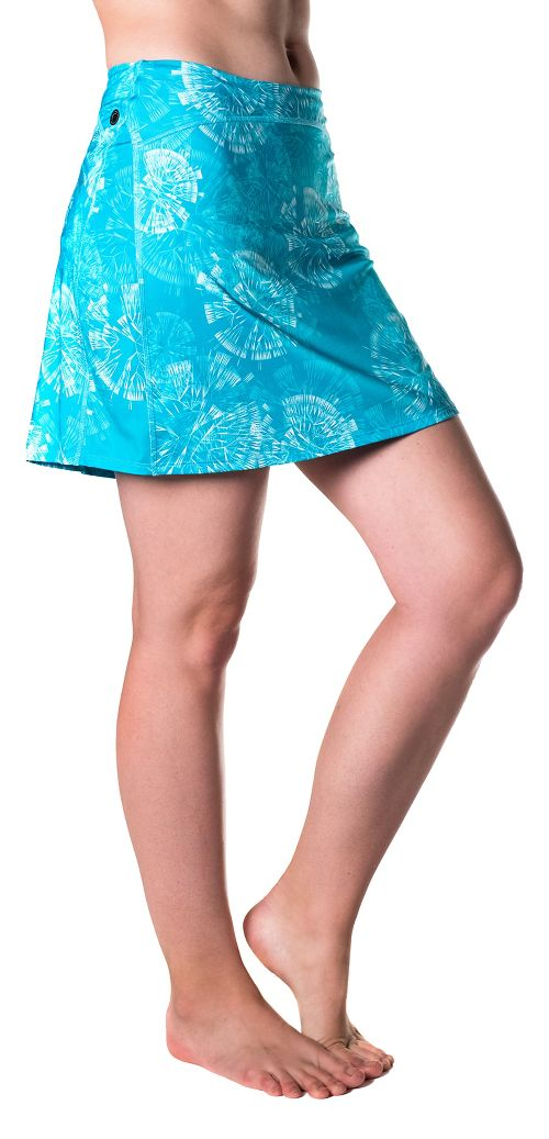 Womens Skirt Sports Happy Girl Skorts Fitness Skirts - Clarity Print XS