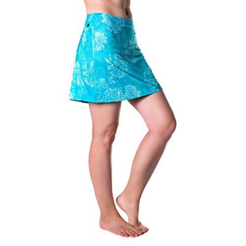 Womens Skirt Sports Happy Girl Skorts Fitness Skirts - Clarity Print S