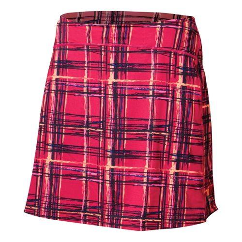 Womens Skirt Sports Happy Girl Skort Fitness Skirts - Aberdeen Print XL