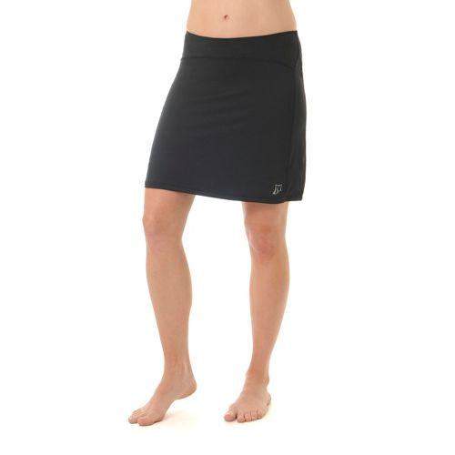 Womens Skirt Sports Happy Girl Skort Fitness Skirts - Black M