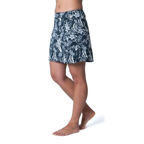 Womens Skirt Sports Happy Girl Skort Fitness Skirts - Paradise Print M