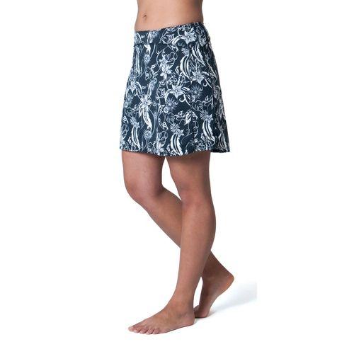 Womens Skirt Sports Happy Girl Skort Fitness Skirts - Paradise Print XL