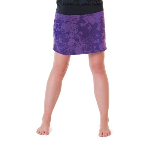 Womens Skirt Sports Happy Girl Skort Fitness Skirts - Purple Passion XL