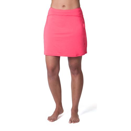 Womens Skirt Sports Happy Girl Skort Fitness Skirts - Sunset Punch L