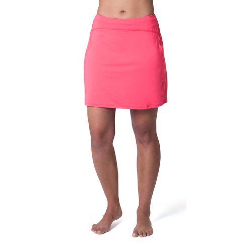 Womens Skirt Sports Happy Girl Skort Fitness Skirts - Sunset Punch XS
