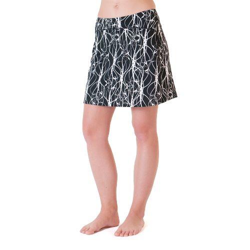 Womens Skirt Sports Happy Girl Skort Fitness Skirts - Twisted Print M