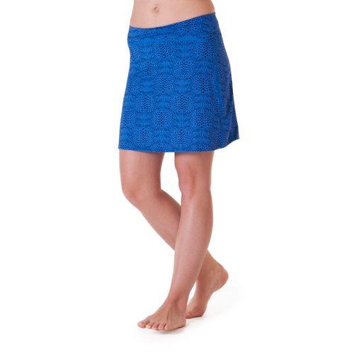 Womens Skirt Sports Happy Girl Skort Fitness Skirts - Whisper Print M
