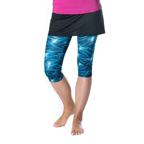 Womens Skirt Sports Lotta Breeze Capri Skorts Fitness Skirts - Stargaze/Black XXL