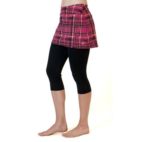 Womens Skirt Sports Lotta Breeze Capri Skort Fitness Skirts - Aberdeen Print/Black XL