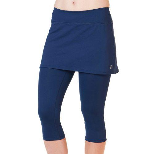 Womens Skirt Sports Lotta Breeze Capri Skort Fitness Skirts - Armada Blue/Armada Blue L