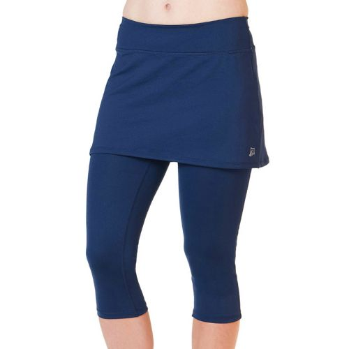 Womens Skirt Sports Lotta Breeze Capri Skort Fitness Skirts - Armada Blue/Armada Blue XS