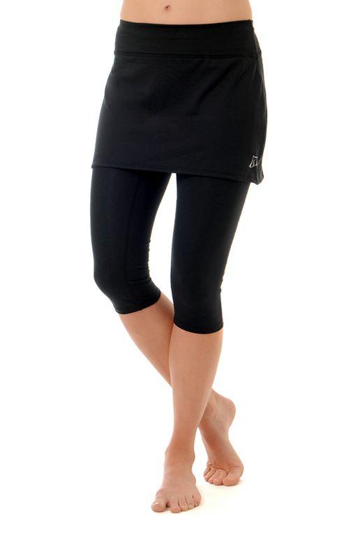 Womens Skirt Sports Lotta Breeze Capri Skorts Fitness Skirts - Enchanted/Black XS