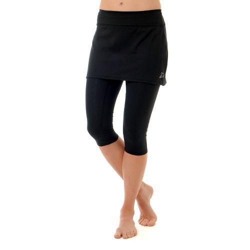 Womens Skirt Sports Lotta Breeze Capri Skort Fitness Skirts - Black XXL