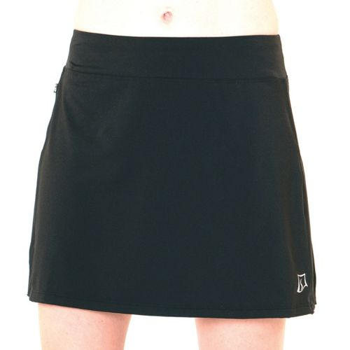 Womens Skirt Sports Cruiser Bike Girl Skort Fitness Skirts - Black XL