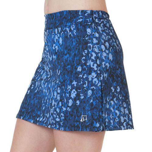 Womens Skirt Sports Cruiser Bike Girl Skort Fitness Skirts - Washed/Denim Print S
