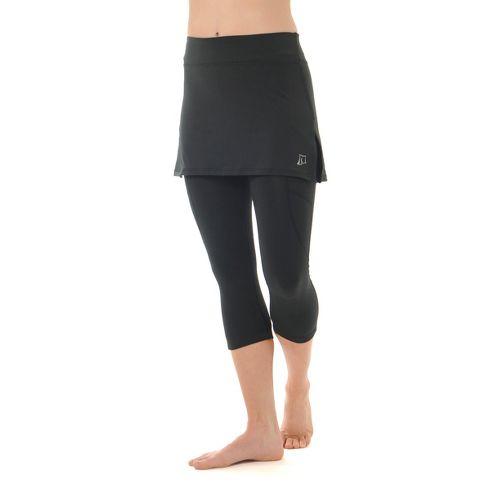 Womens Skirt Sports Cruiser Bike Knicker Skort Fitness Skirts - Black XS
