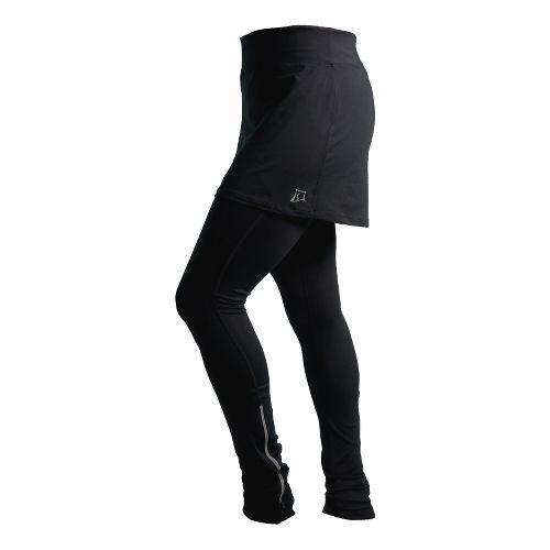 Womens Skirt Sports Cruisin Tights Skort Fitness Skirts - Black M