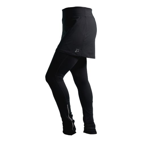 Womens Skirt Sports Cruisin Tights Skort Fitness Skirts - Black XS
