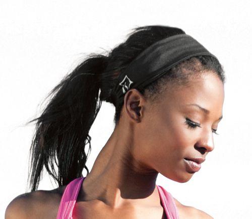 Womens Skirt Sports Headband Headwear - Black