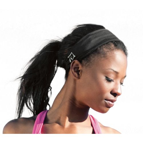 Womens Skirt Sports Headband Headwear - Black