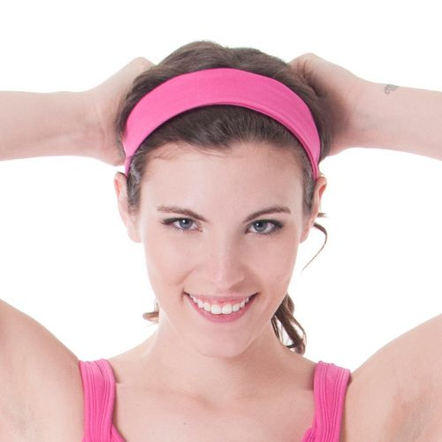 Womens Skirt Sports Headband Headwear - Pink Crush