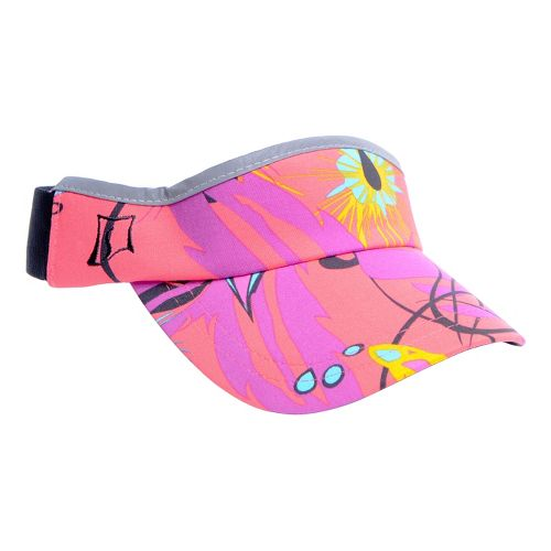Womens Skirt Sports Visor Headwear - Fiesta Print