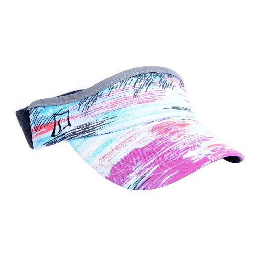 Womens Skirt Sports Visor Headwear - Oasis Print