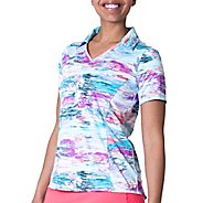 Womens Skirt Sports Free Me Polo Short Sleeve Technical Tops