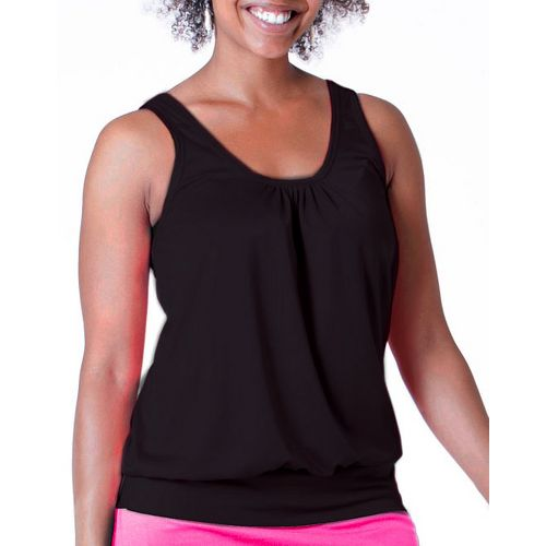 Womens Skirt Sports Go Getter Tanks Technical Tops - Black XXL