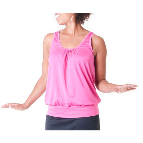 Womens Skirt Sports Go Getter Tanks Technical Tops - Pink Crush XL