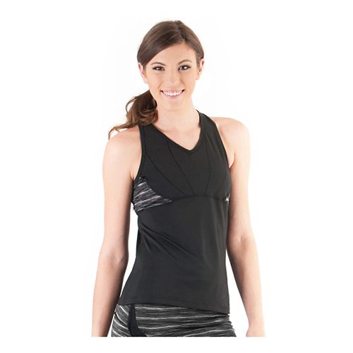Womens Skirt Sports Eclipse Tanks Technical Tops - Black/Streak S
