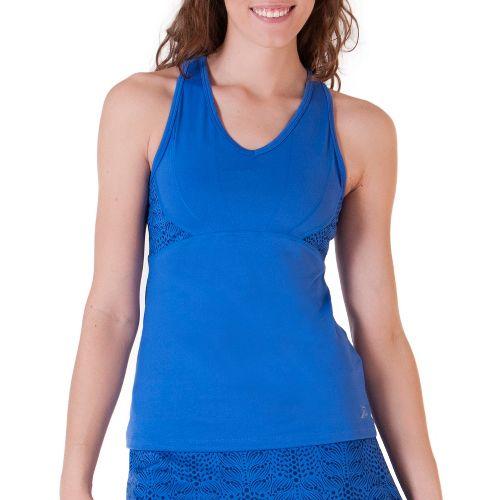 Womens Skirt Sports Eclipse Tanks Technical Tops - Azul XXL