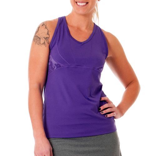 Womens Skirt Sports Eclipse Tanks Technical Tops - Pretty in Purple/Purple Passion XXL