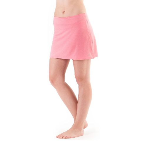 Womens Skirt Sports Gym Girl Ultra with Drawcord Skort Fitness Skirts - Flirty Heather L ...