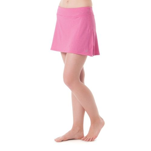 Womens Skirt Sports Gym Girl Ultra with Drawcord Skort Fitness Skirts - Pink Crush Heather ...