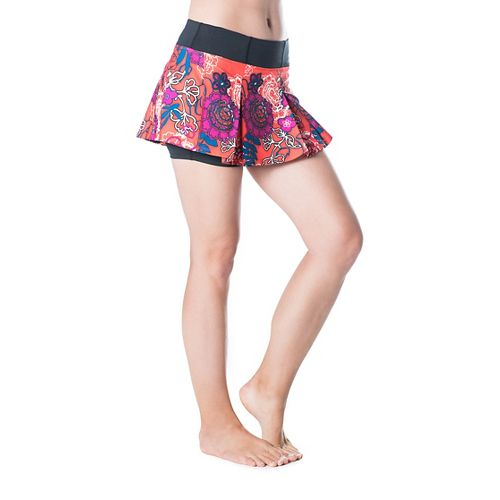 Womens Skirt Sports Jette Skorts Fitness Skirts - Frolic Print L