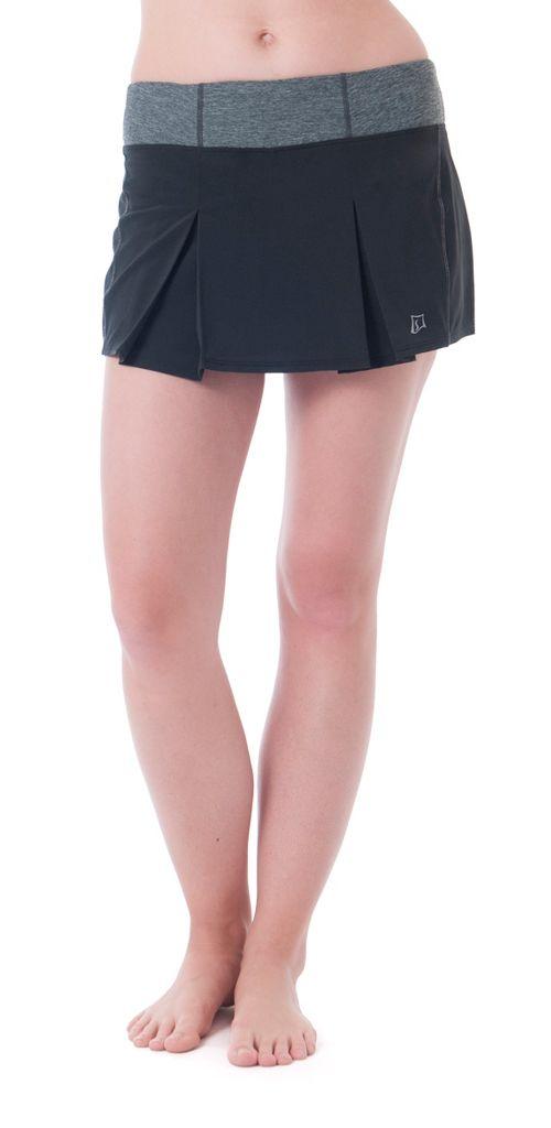 Womens Skirt Sports Jette Skorts Fitness Skirts - Black XL