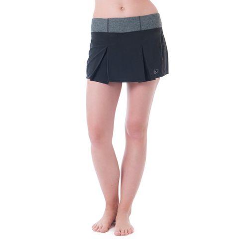 Womens Skirt Sports Jette Skorts Fitness Skirts - Black XXL