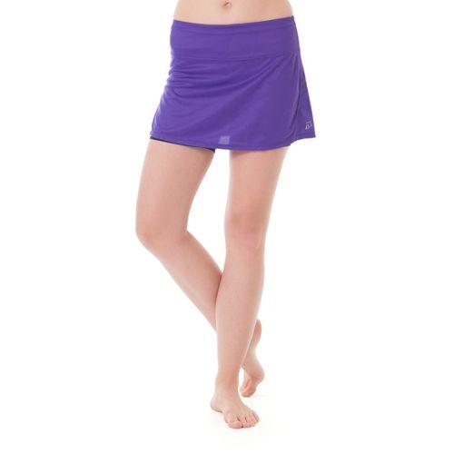 Womens Skirt Sports Running Skort with Shorties Fitness Skirts - Pretty in Purple M