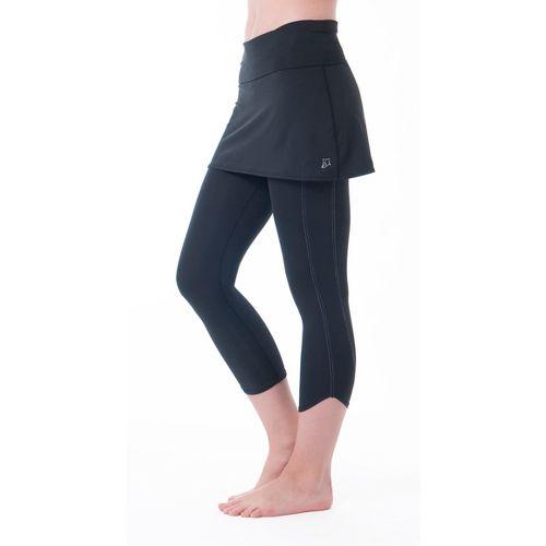 Womens Skirt Sports Levity Capri Tights - Black S