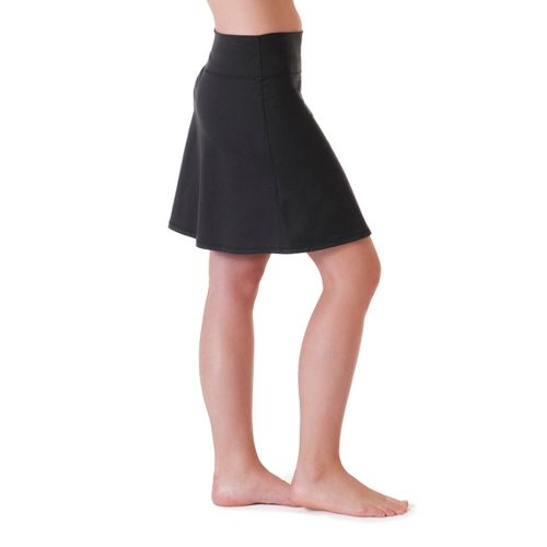 Womens Skirt Sports Roundabout Fitness Skirts - Black L