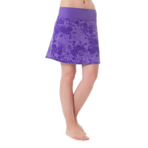 Womens Skirt Sports Roundabout Fitness Skirts - Light Purple Passion XL