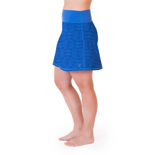 Womens Skirt Sports Roundabout Fitness Skirts - Whisper Print XL