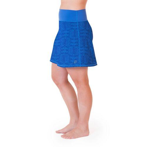 Womens Skirt Sports Roundabout Fitness Skirts - Whisper Print XXL
